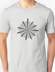 Mandala 18 Back In Black Unisex T-Shirt