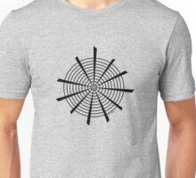 Mandala 18 Back In Black Unisex T-Shirt