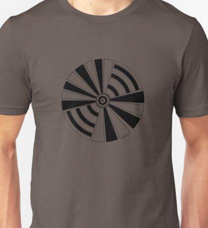 Mandala 17 Back In Black Unisex T-Shirt