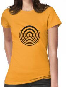 Mandala 16 Back In Black Womens Fitted T-Shirt