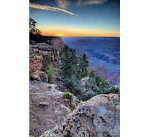 South Rim Sunset  Photographic Print