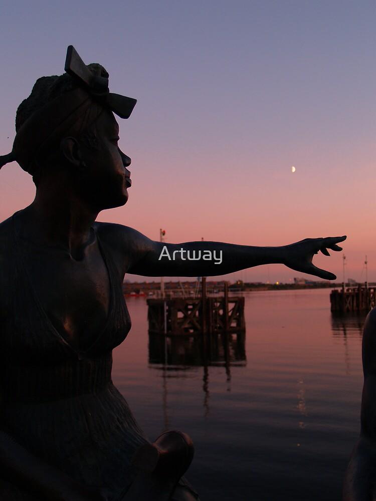 'Reach' by Artway