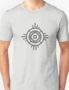 Mandala 4 Back In Black Unisex T-Shirt