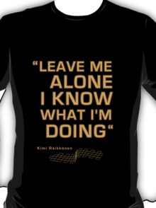 Kimi Raikkonen  - Radio Tribute 1 T-Shirt