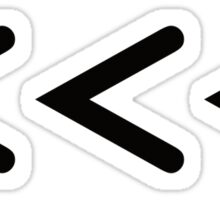 Chevrons Sticker