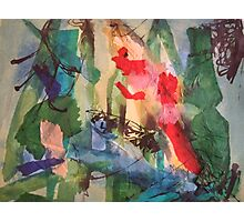 Kandinsky composition inspired Photographic Print