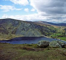 Mountain lake, Wicklow by Elaine Stevenson