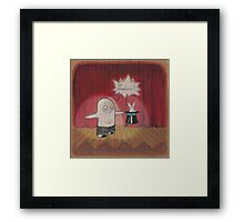 Make Believe Magician Framed Print