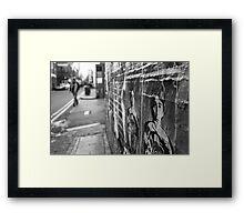 OBEY Framed Print