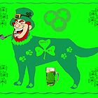 Dog Leprechaun 2 by kabsannie