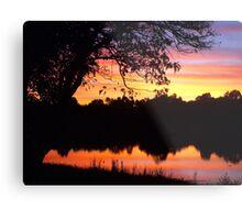 Boring sunset shot Metal Print