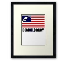 DEMOILCRACY Framed Print