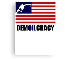 DEMOILCRACY Canvas Print