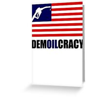 DEMOILCRACY Greeting Card