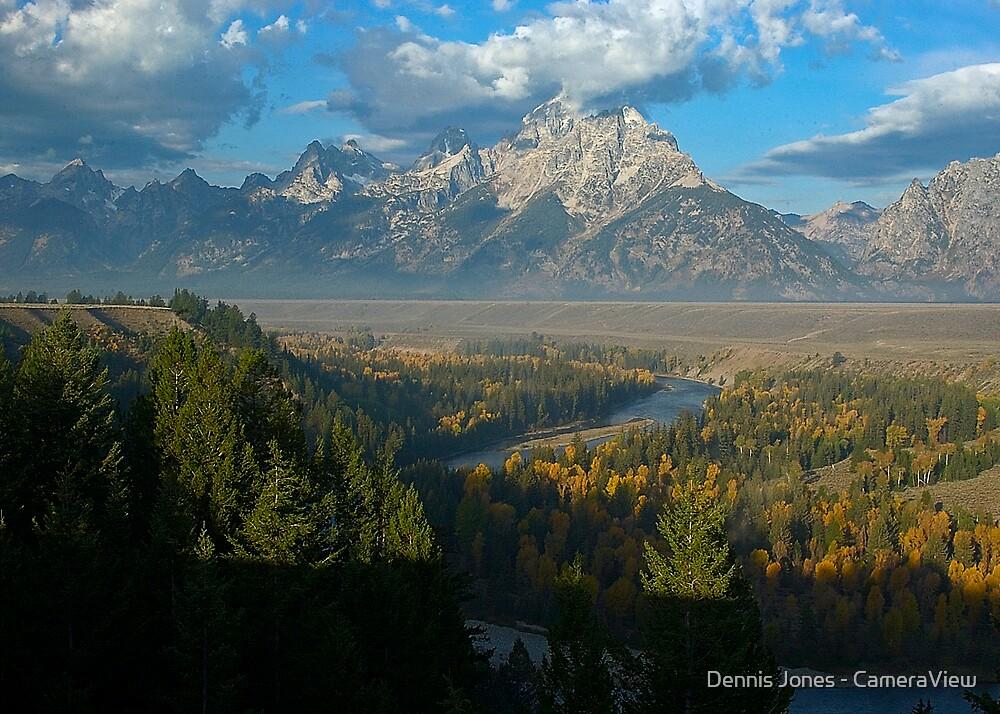 Snake River Overlook - Grand Tetons National Park by Dennis Jones - CameraView