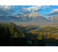 Snake River Overlook - Grand Tetons National Park Photographic Print