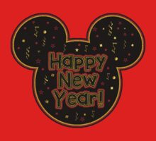 Happy New Year Mickey Mouse Head by sweetsisters