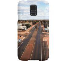 The main street of Menzies (photo Dave Carter) Samsung Galaxy Case/Skin