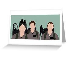 ghost busters Greeting Card