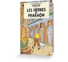 LES HERBES DU PHARAON Greeting Card