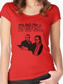 Ein Fall Für Zwei - A Case For Two Women's Fitted Scoop T-Shirt