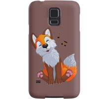 Singing, swinging foxy Samsung Galaxy Case/Skin