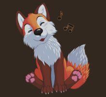 Singing, swinging foxy by EosFoxx