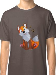 Singing, swinging foxy Classic T-Shirt