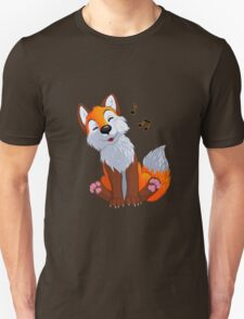 Singing, swinging foxy Unisex T-Shirt