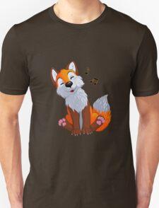 Singing, swinging foxy Unisex T-Shirt