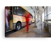 Ghost Stop Canvas Print