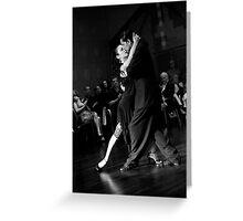 El Alma del Tango Greeting Card