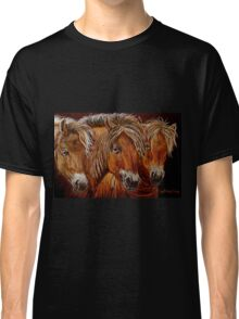 """Larry,Curlie and Moe"" Classic T-Shirt"