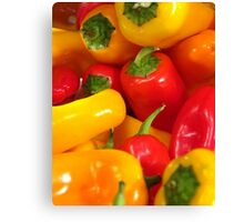 Peppers #01 Canvas Print
