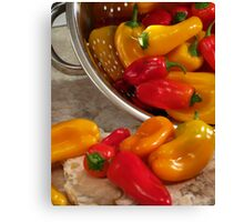 Peppers #04 Canvas Print
