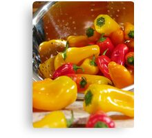 Peppers #03 Canvas Print