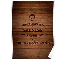 Breakfast Food Poster