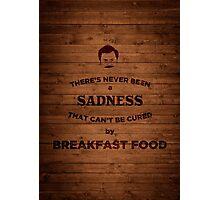 Breakfast Food Photographic Print