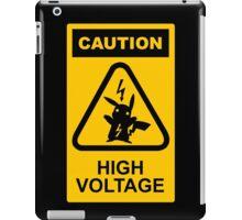 Pikachu high voltage pokemon iPad Case/Skin