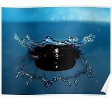 Blue Tiara Poster