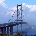 Foggy Bridge by Tom Gomez