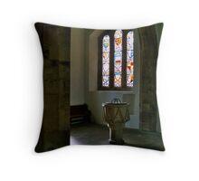 Baptistry Throw Pillow
