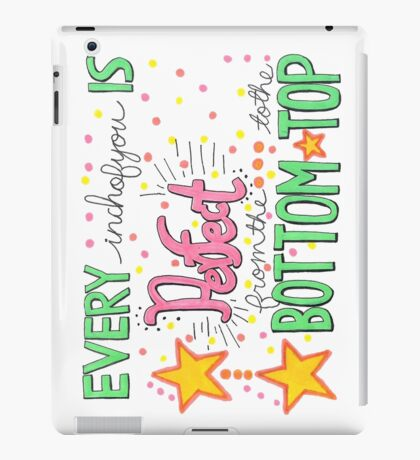 All About That Bass Lyric Art iPad Case/Skin