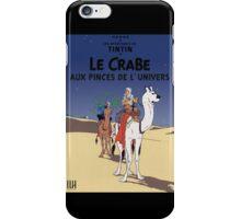 LE CRABE AUX PINCES DE L'UNIVERS iPhone Case/Skin