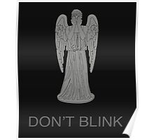 Weeping Angel -Don't Blink Poster
