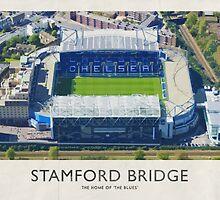 Vintage Football Grounds - Stamford Bridge (Chelsea FC) by twelfthman