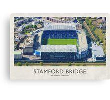 Vintage Football Grounds - Stamford Bridge (Chelsea FC) Canvas Print