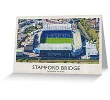Vintage Football Grounds - Stamford Bridge (Chelsea FC) Greeting Card