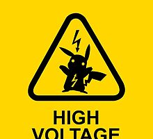 Pokemon Pikachu high voltage by maocat
