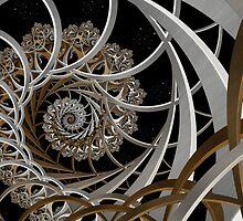 Space Lattice by Ross Hilbert